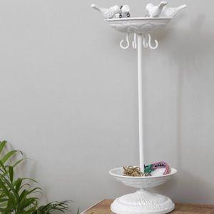 UO Metal Enamel Bird Bath Bijou Jewelry Stand